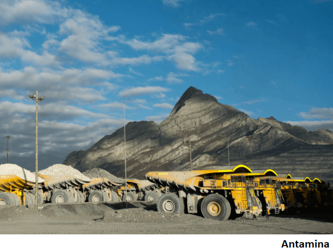 Mina peruana Antamina expandiría capacidad de almacenamiento de relaves