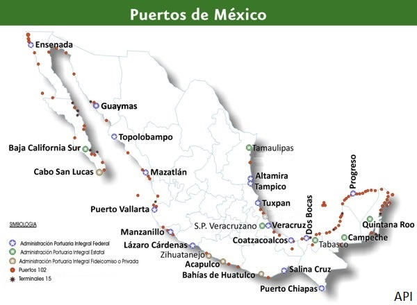 Mexican ports to keep operating despite COVID-19