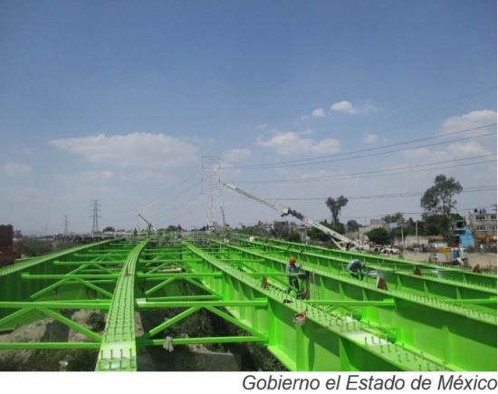Viaducto de US$461mn en Estado de México no estaría terminado
