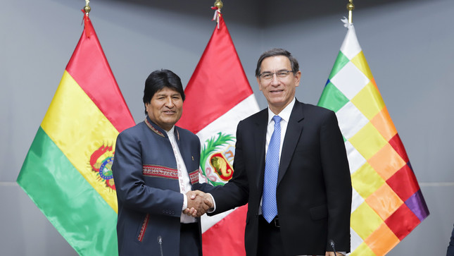 Bolivia steps up gas lobby at Peru cabinet meeting