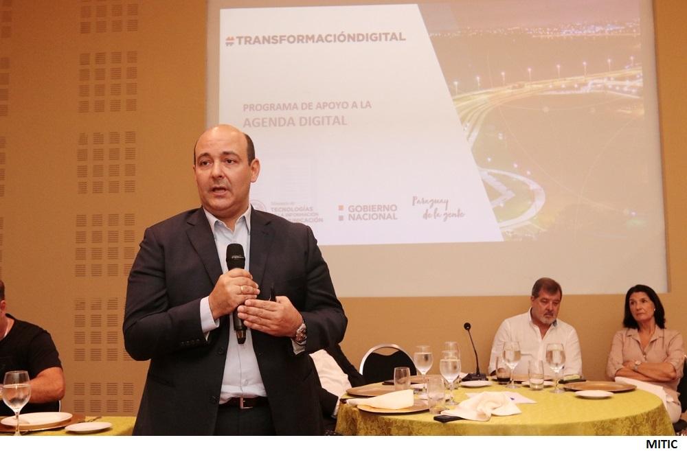 Paraguay planea terminar en enero unificación de 16.000km de fibra