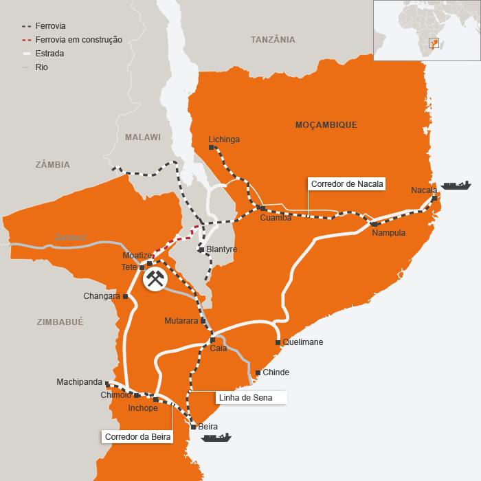 Vale prepara venta de operaciones de carbón en Mozambique
