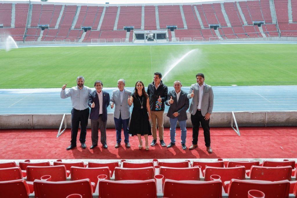 Santiago 2023 revela su plan: siete recintos nuevos y US$ 170 millones de inversión
