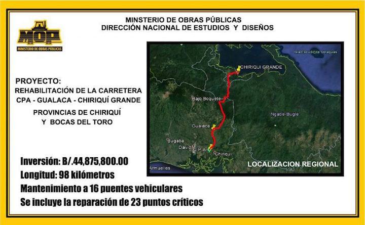 Panamá da luz verde a obras viales