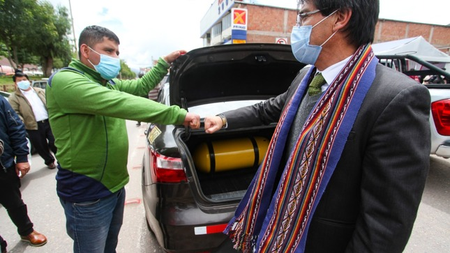 After 16 years of waiting, the gas reached the Cusco region