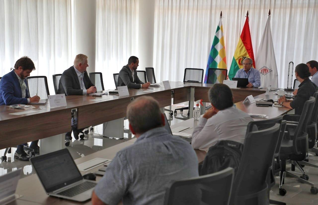 Ambar from Brazil interested in buying Bolivian gas