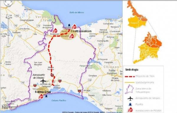 México invertirá US$150mn en corredor interoceánico en Oaxaca