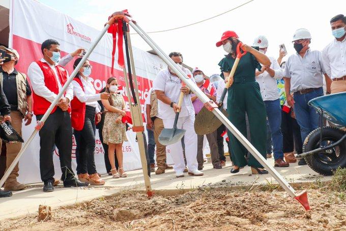 Perú inicia obras de reconstrucción escolar bajo acuerdo con Reino Unido