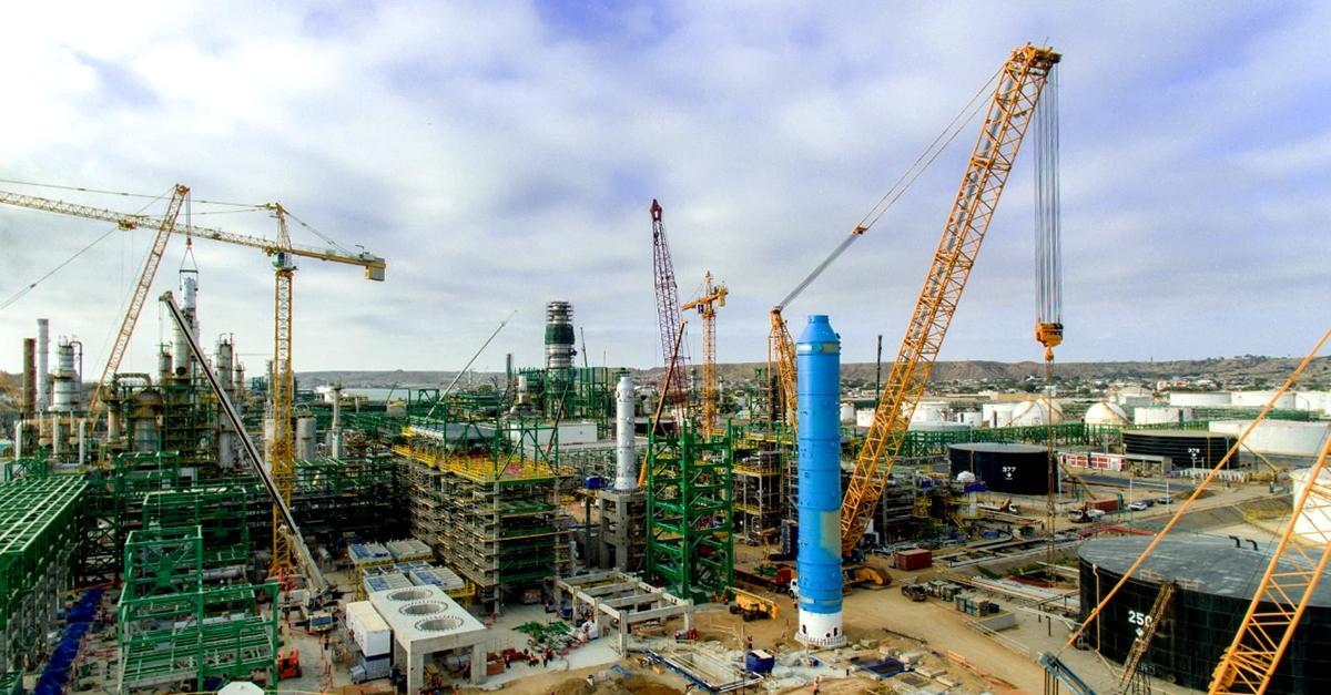 La Nueva Refinería Talara continúa firme en su última fase de construcción