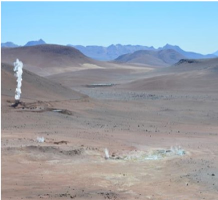 International groups after early stage Bolivia geothermal work