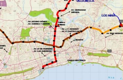 Dominican Republic pushing ahead with mass transit works