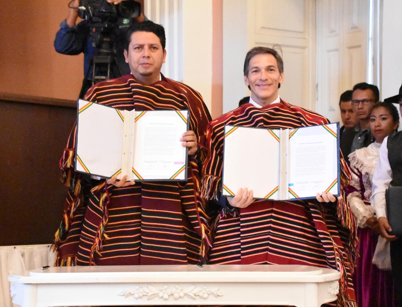 Acuerdos firmados para proyecto Yapucaiti y Área Carandaiti en Bolivia