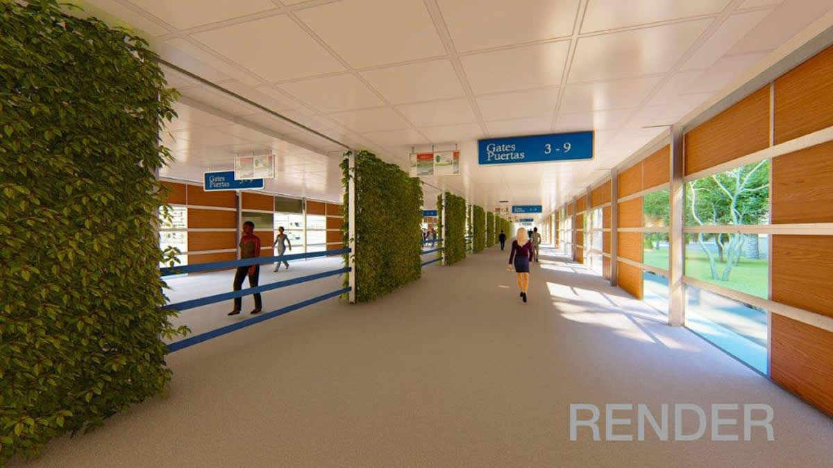 Start of expansion works for boarding and disembarkation corridors at Rafael Núñez Airport in Cartagena