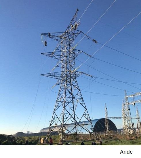 Paraguay fortalece red ante mayor consumo hidroeléctrico