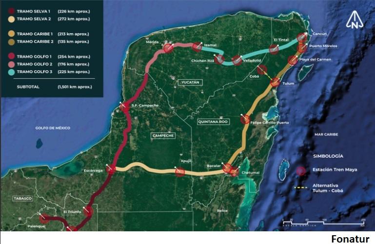 ONU destaca beneficios de Tren Maya