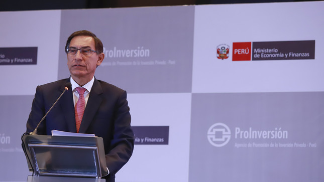 President Vizcarra highlights the execution of 23 projects for US $ 5,351 million that will boost the closing of infrastructure gaps