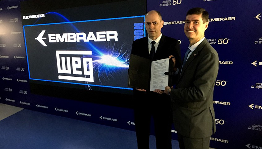 Brazil's Embraer, Weg pushing for electric aircraft propulsion