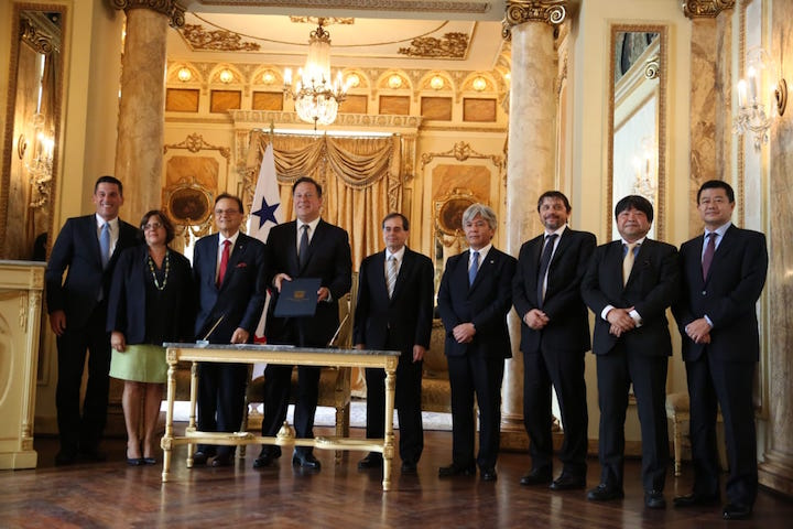 Panama, Japan close US$840mn metro deal