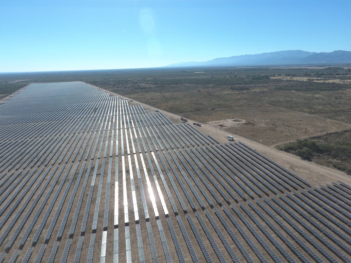 Conectan primera planta solar de RenovAr en Argentina