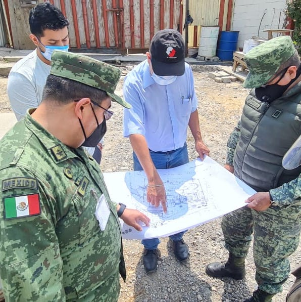 Army kicks off works at halted Mexico City hospital project