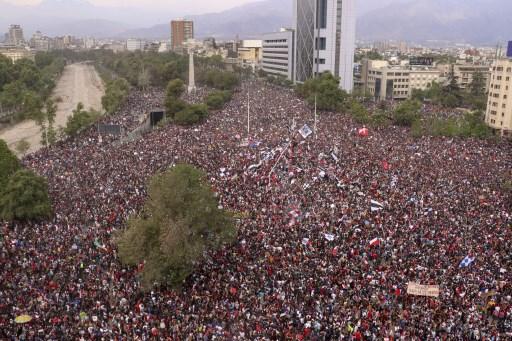Resumen de la crisis en Chile