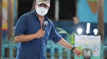 Honduras arranca instalación de 280.000 focos led en Olancho