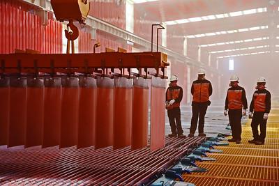 La integración es clave para una producción más ecológica de cobre
