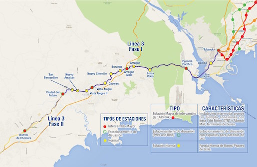 Panamá lanza subasta para construir nueva línea de metro