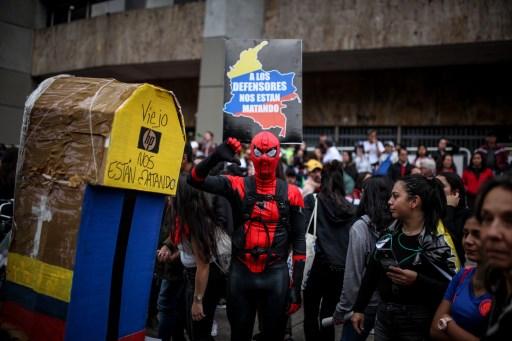 Manifestantes colombianos esperan canalizar ola de descontento