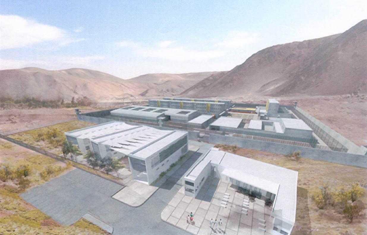 Chile lanza licitación de diseño de nuevo complejo penitenciario para Calama