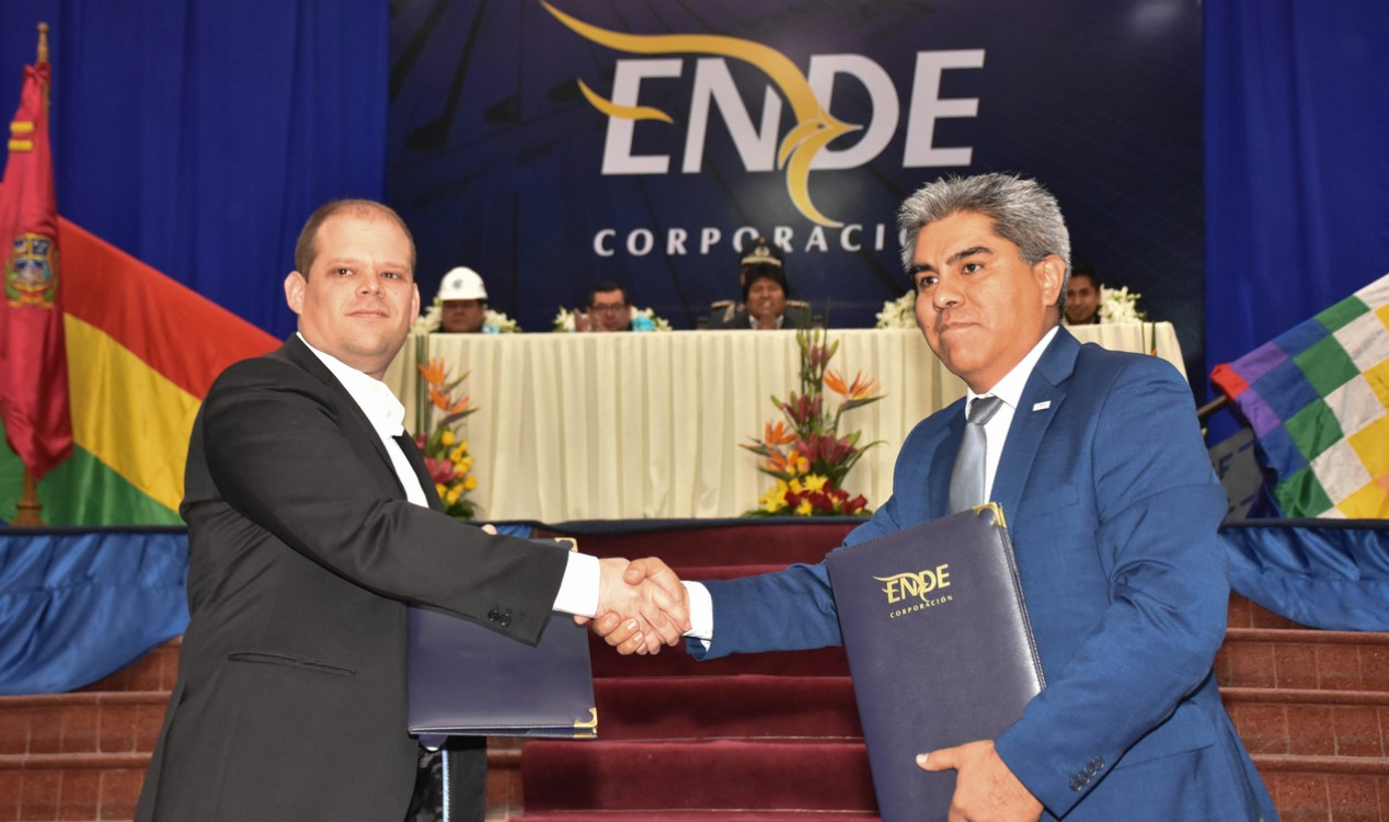 Bolivia inks solar project deal