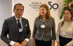 Autoridades brasileñas cosechan dividendos en Davos