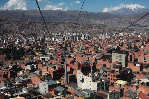La Paz inaugura octava línea de teleférico