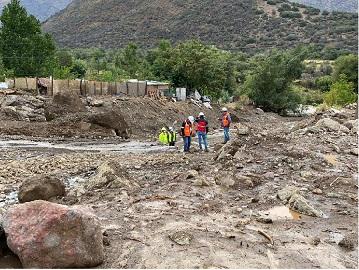 Lluvias en Chile provocan aluviones, cortes de energía y problemas en agua