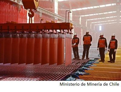 Chile podría llegar a producir 7Mt de cobre al año