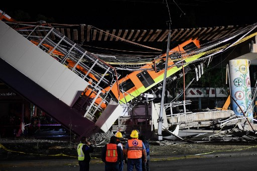 Mexico City mayor invites builders of collapsed metro line to help with solutions