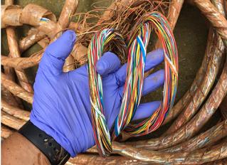 Robo de cables interrumpe servicios de telecomunicaciones en Latinoamérica