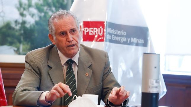 Ministro Herrera Descalzi: Daremos continuidad a las inversiones minero-energéticas en Perú