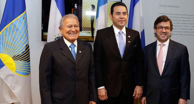 Triángulo Norte de Centroamérica recibirá inversión de US$2.500mn