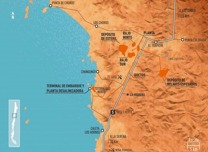 ¿Qué pasará con el proyecto de mineral de hierro y cobre Dominga en Chile?