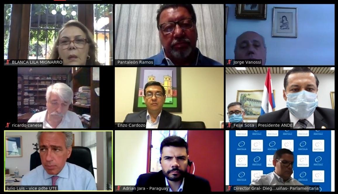 PARLASUR realiza el cuarto ciclo de debates del Seminario de Integración Eléctrica en el MERCOSUR