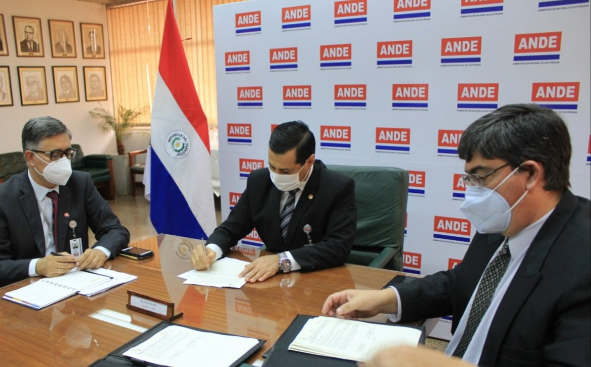 ANDE and COPEL agree reciprocal technical cooperation
