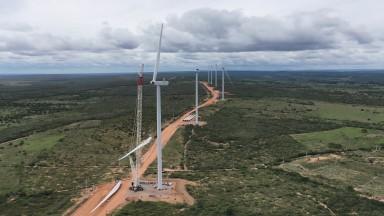 Operations start at US$150mn Folha Larga Sul wind complex