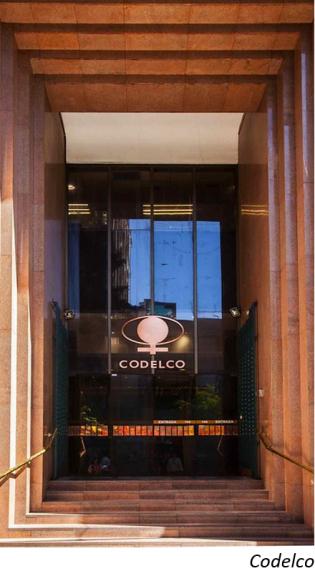 Snapshot: Codelco's fraud complaints