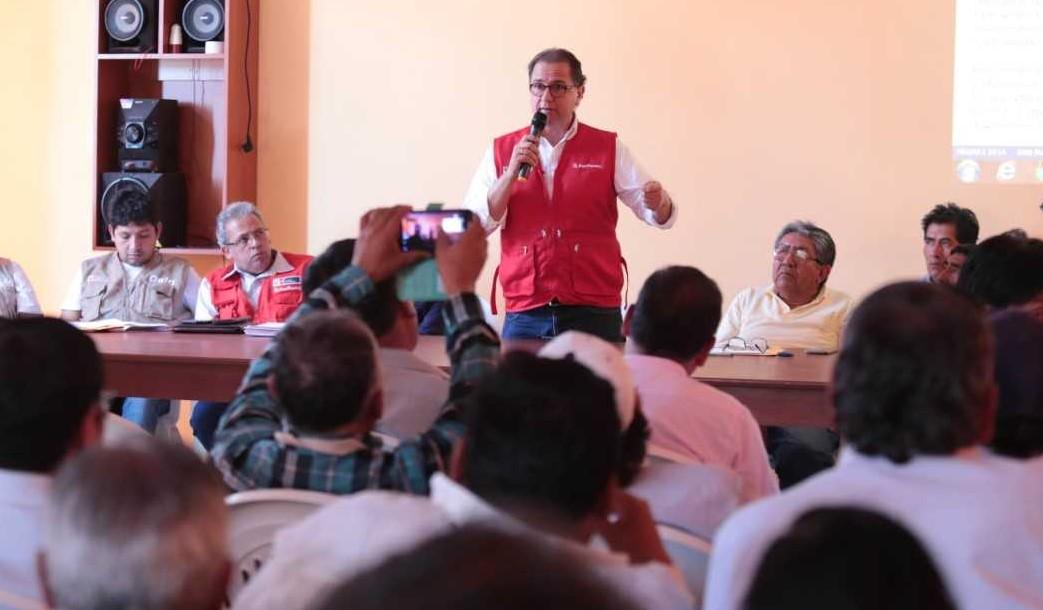 Avanza diálogo entre el Ejecutivo y la población de Tumilaca e instalan grupos de trabajo