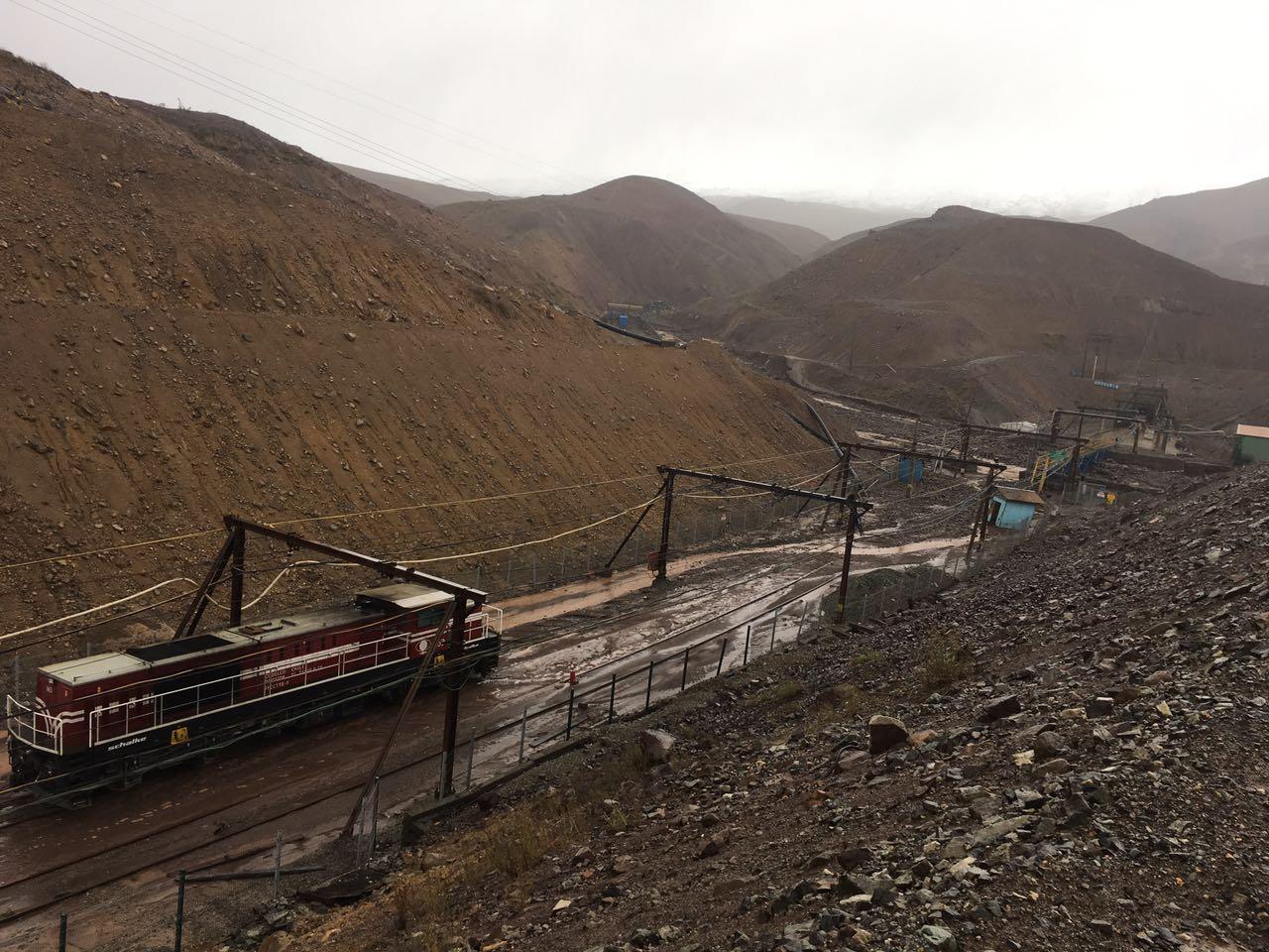Fuertes lluvias de abril impactan producción chilena de cobre
