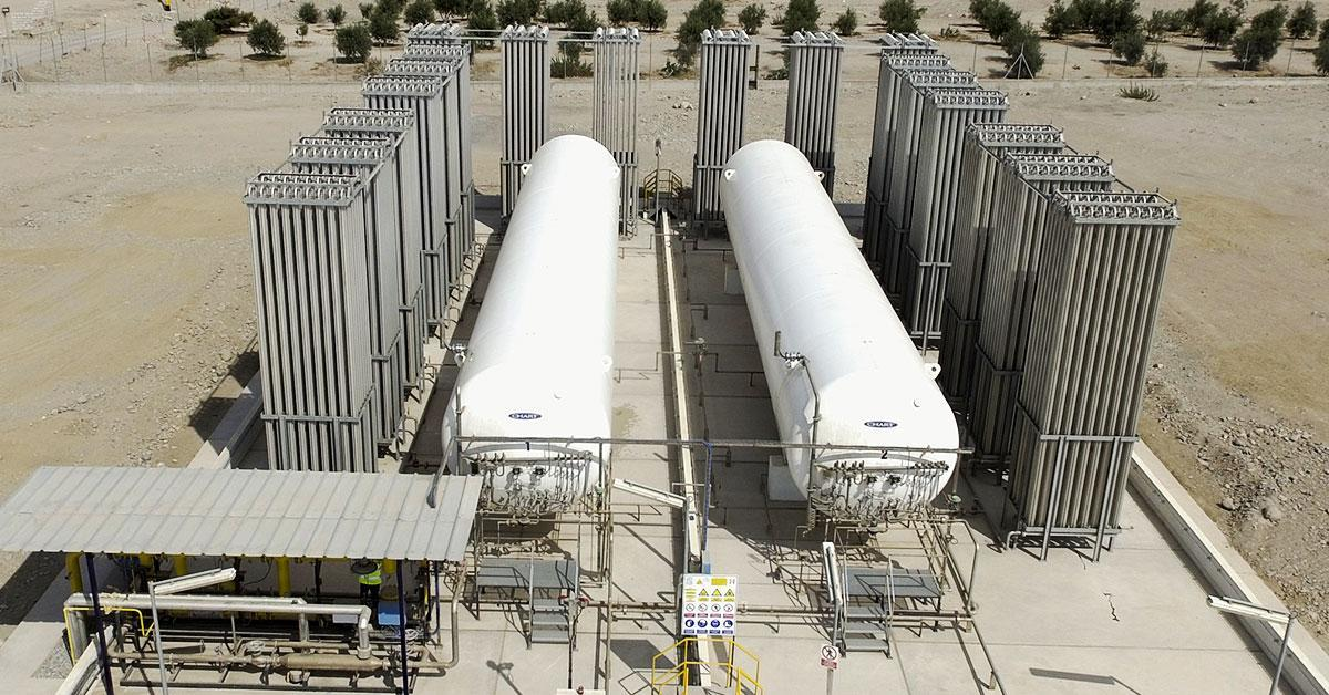 Petroperú celebra su primer trimestre suministrando gas natural al sur peruano