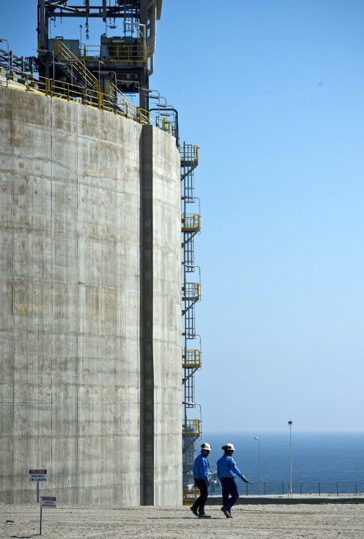 BNamericas - Chile's Mejillones seeks to expand LNG regasification