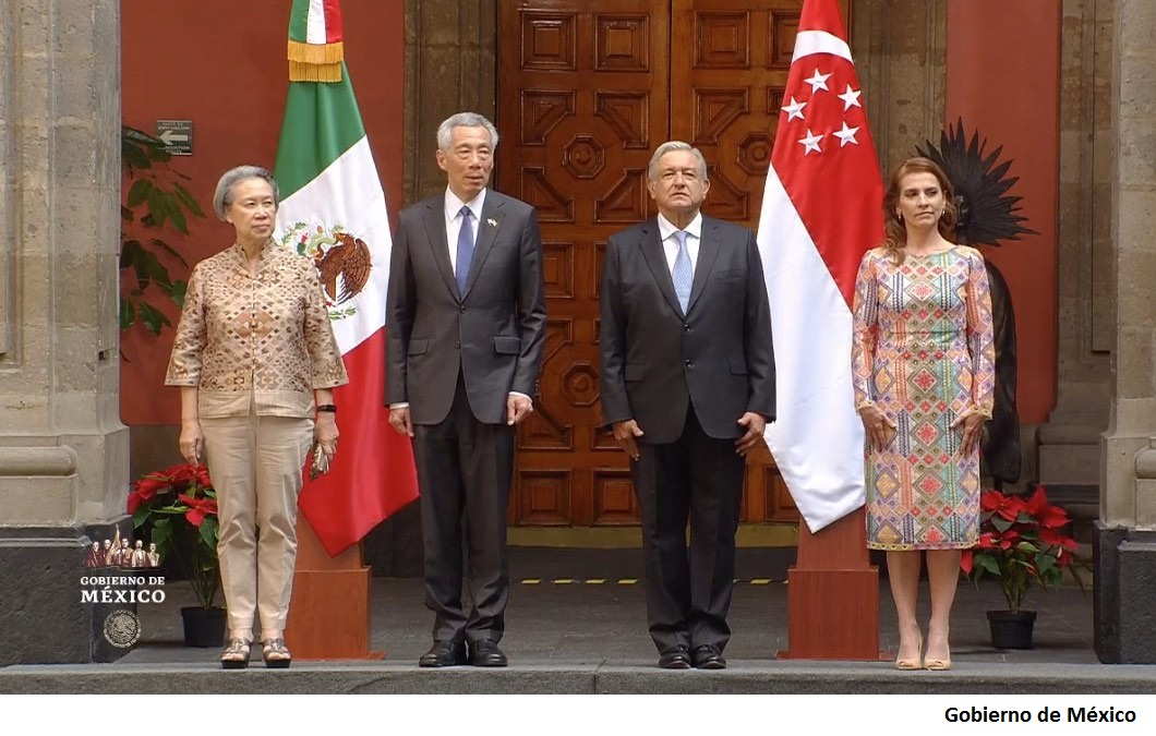 Singapur participará en corredor del istmo de Tehuantepec