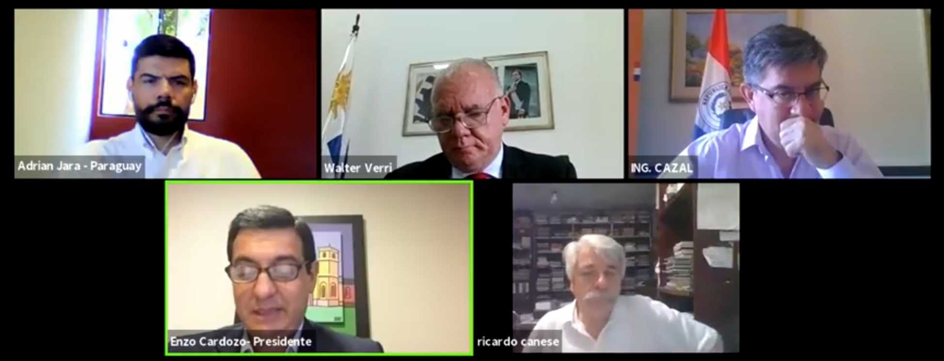 PARLASUR realiza el tercer ciclo de debates del Seminario de Integración Eléctrica en el MERCOSUR